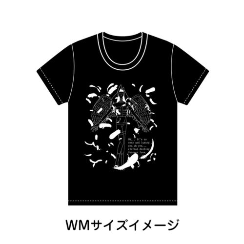 【学園ハンサム】ウィメンズサイズ_美剣咲夜Tシャツ_キャラクターソングvol.1