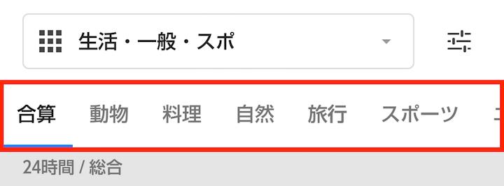 androidランキング_カテゴリグループ