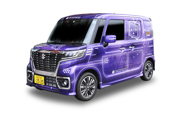 machikaigi2019_VTuber_car